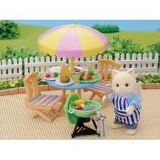 Sylvanian Families Garden Barbeque Set