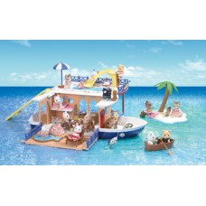 Sylvanian Families Seaside Cruiser House Boat