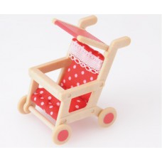 Sylvanian Families Baby Push Chair Red