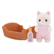Sylvanian Families Golightly Silk Cat Baby