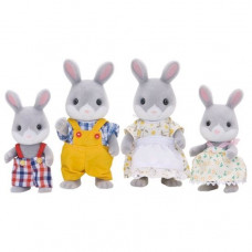 Sylvanian Families Cotttontail Rabbit Family