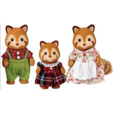 Sylvanian Families Robinson Red Panda Family