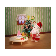 Sylvanian Families Christmas Party Set 2011 Edition