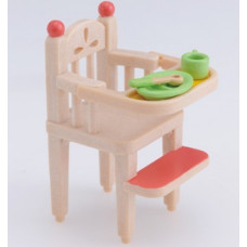Sylvanian Families Baby High Chair Beige