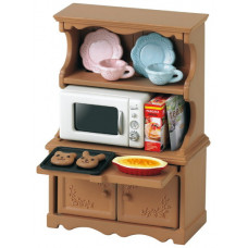 Sylvanian Families Cupboard with Oven Set