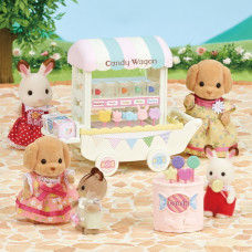 Sylvanian Families Candy Wagon Set