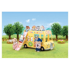 Sylvanian Families Nursery Double Decker Bus Set