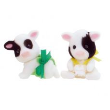 Sylvanian Families Buttercup Friesian Cow Twin Babies