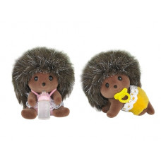 Sylvanian Families Bramble Hedgehog Twin Babies