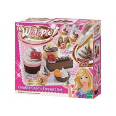 Whipple Double Creme Dessert Set Chocolate and Vanilla